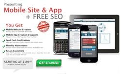 Custom Mobile Marketing Website