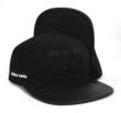 "Flat Fitty Die Real ""Black Ink - Family First"" Limited Edtion Black/Black"