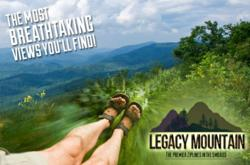 Legaxy Mountain promises to bring breathtaking views of the scenic Smoky Mountains with each Pigeon Forge zip line adventure.