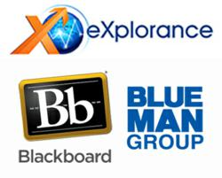 eXplorance course evaluation solutions will be featured at BbWorld, showcasing their Blue product.