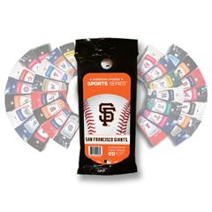 San Francisco Giants MLB Wipes