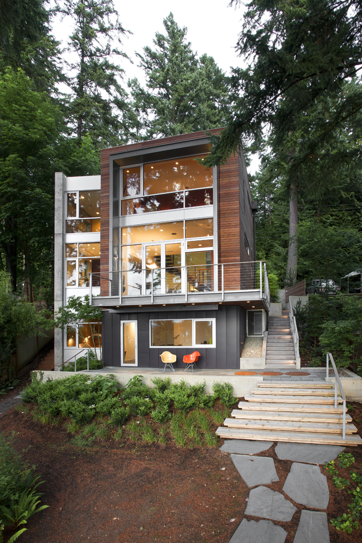 Explore modern homes in the pacific northwest in september for Seattle home design