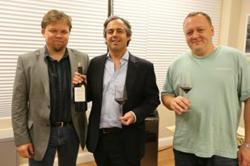 Filipe Barros - owner of Dona Matilde located in the Douro valley (Portugal) and Georgiy Kharchenko (Georgiy Harchenko) - CEO of Classe Wines LLC — with georgiy harchenko