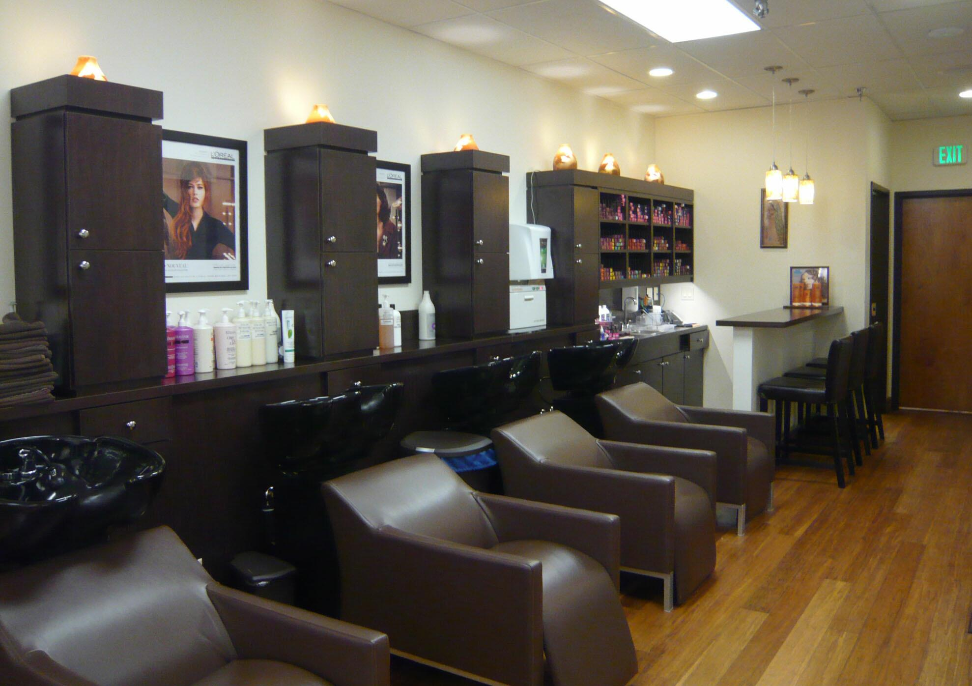 Home decorating pictures craft areas for Wash hair salon