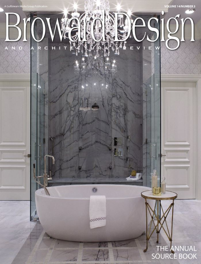 Marc Michaels Interior Design Featured On The Cover Of Broward