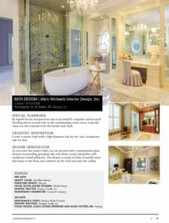 Marc-Michaels Interior Design Bath Design Award