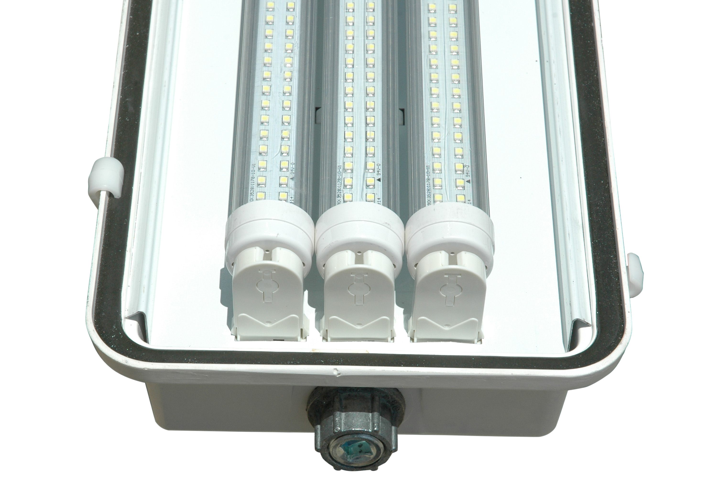 Led Lighting Fixtures : ... led lighting fixture 3 lamp 4 foot hazardous location led lighting