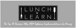 SugarCRM Lunch and Learn