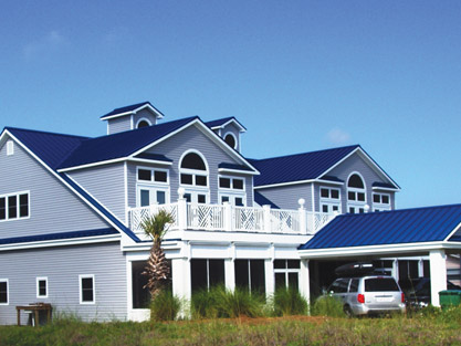 Metal Roofs For Houses Colors Building With Roof Material A Smaller Home Beach House Pinterest And