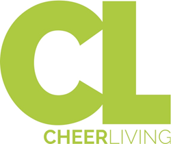 CheerLiving, a quarterly cheerleading magazine is a division of Cheerleading Blog and sponsored by Chassé
