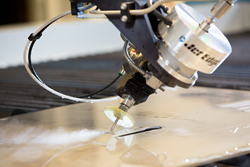 5-axis water jet cutting head
