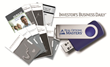 Attendees receive a 2.0 GB USB Drive as a gift, preloaded with valuable financial information from Investor's Business Daily.