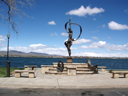 Sculpture at Lake Loveland