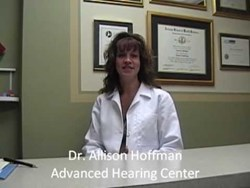 Advanced Hearing Center - New York City - Dr. Alison Hoffmann