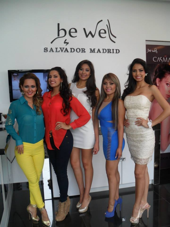 Pollogen s aesthetic procedures the treatments of choice for the new miss bolivia mundo 2013 Miss sixty madrid