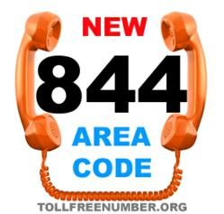 new 844 area codes