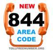 new 844 area code