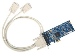 7202e PCI Express 2-Port RS-232 Serial Interface Adapter