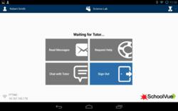 CrossTec SchoolVue Android Student Communications Screen