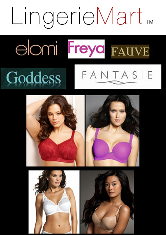 4f76f17f54070 Lingerie Mart Launches 80% Off Wholesale Lingerie Super Sale Pricing On  Freya, Fantasie, Fauve, Goddess, Elomi and Parfait by Affinitas Bras C - K  Cups