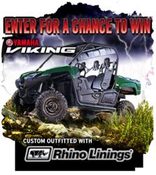 Rhino lined Yamaha