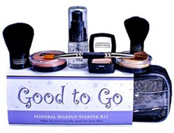 The Ageless Derma Good To Go Kit is a mineral cosmetic