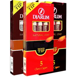 Djarum Wood Tip 5 Pack Free Gift with Purchase