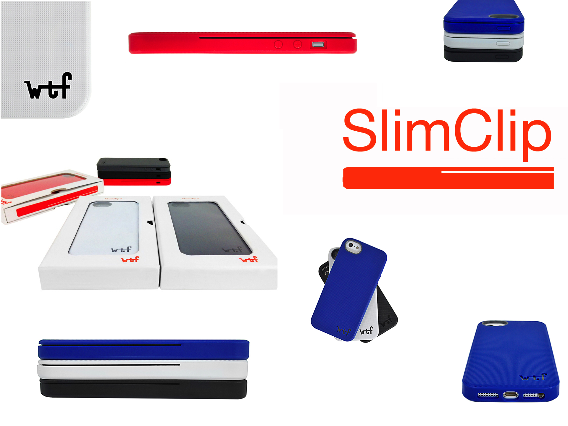 Slimclip Case And Luxbox Case By Thewtfactory For Iphone