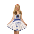 Who doesn't love R2-D2? Everyone will love YOU in this new dress available at Comic-Con. Save the day and pretend that you are everyone's favorite droid in this new Artoo-inspired A-line dress.
