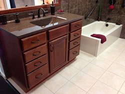 ReBath Northeast will have a full bathroom remodel display at the home shows in October.