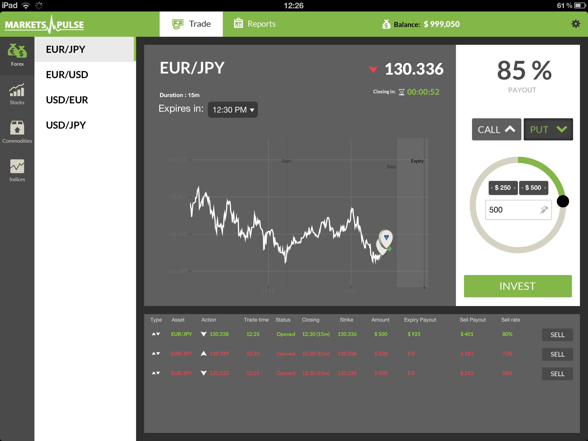 Ipad trade in options