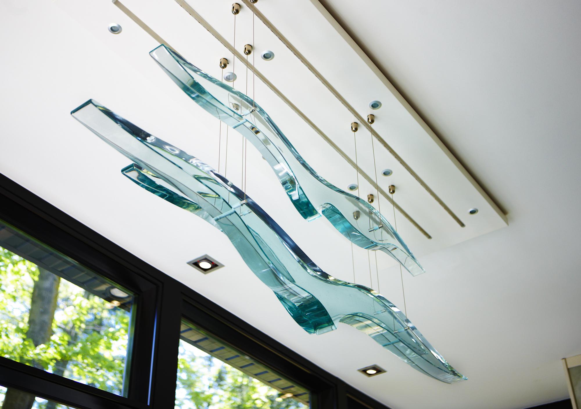 Thinkglass Artist Creates Glass Birds
