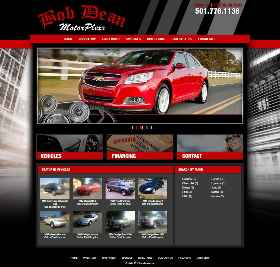 benton arkansas auto dealership bob dean motorplexx chooses to launch. Black Bedroom Furniture Sets. Home Design Ideas