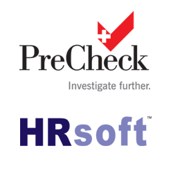 PreCheck and HRsoft offer applicant tracking system integrated with employee background screening services