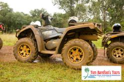 ATV Tour Kauai Perfect for Active Wedding Couples