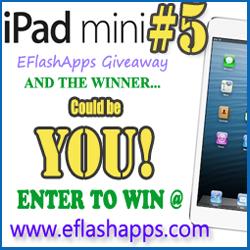 EFlashApps iPad Mini Giveaway