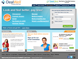 DealWell.com offers consumers up to 85 percent off healthcare services