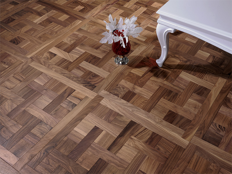 coswick hardwood debuts a new line of mosaic wood floors inspired by hand crafted floors in. Black Bedroom Furniture Sets. Home Design Ideas
