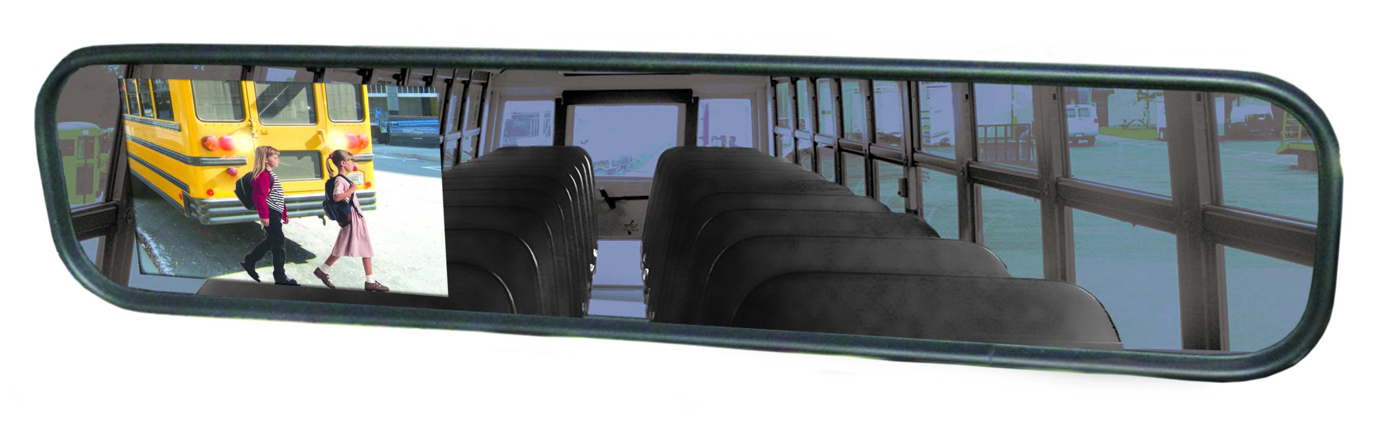 Smart Vision Rear View Mirror Monitor Backup Camera
