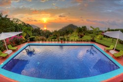 Sunset Views from Costa Rica's VP Private Resort