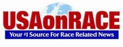 USA on Race Logo