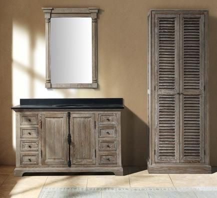 Wood Vanities For Bathrooms homethangs has introduced new solid wood bathroom vanities