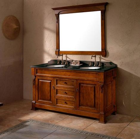 Homethangsm Has Introduced New Solid Wood Bathroom