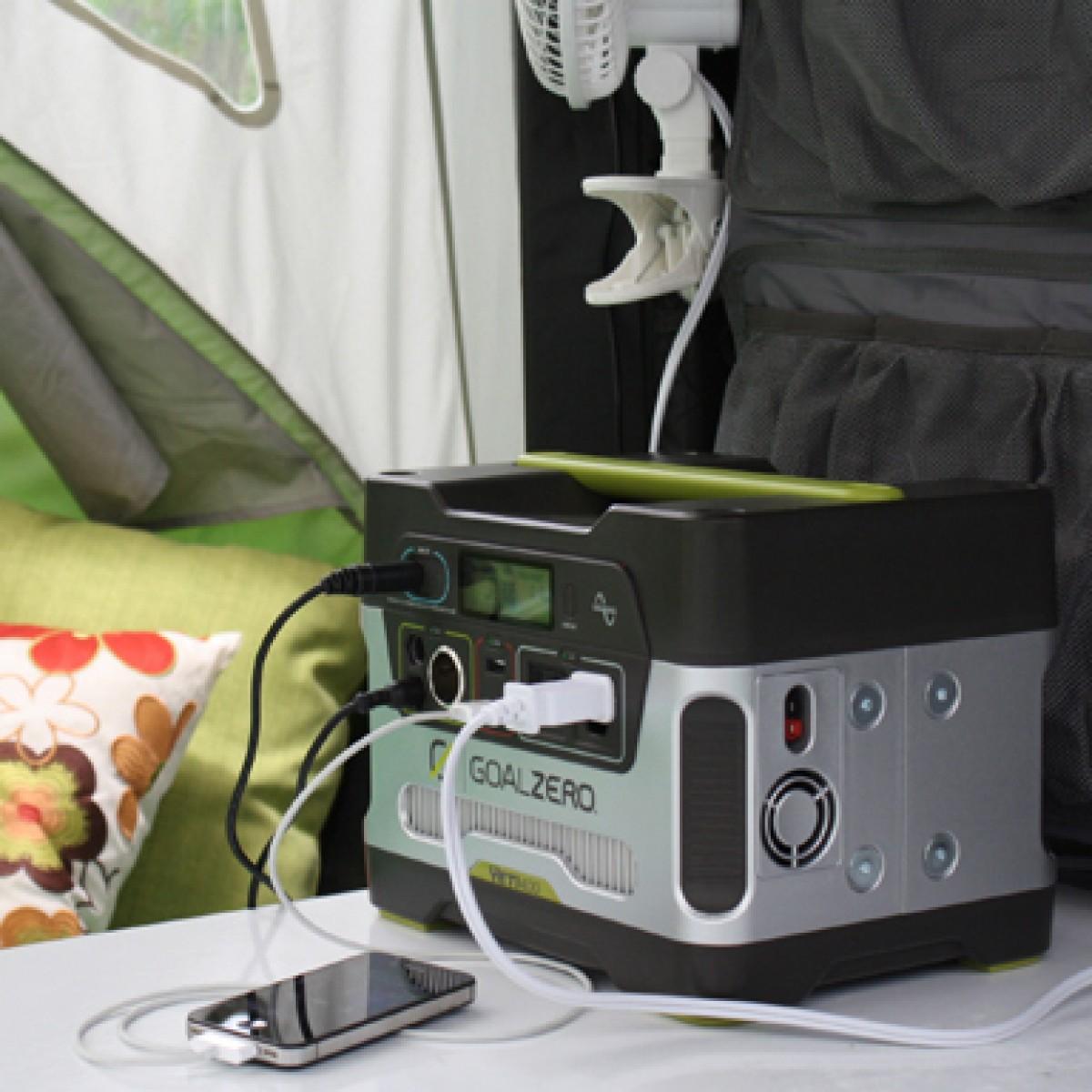 Syvlansport Go Pop Up Camper Goes Solar With Goal Zero
