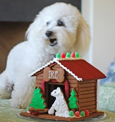 The Solvang Bakery Announces its New Gingerbread Dog House for the 2013 Holiday Season