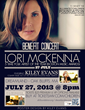Alliance for Children Foundation Holds Benefit Concert Headlined by 5 Time Boston Folk Artist of the Year/Nashville Hit Writer Lori McKenna to Benefit Orphans in Haiti