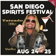 Motley Crue Frontman Vince Neil to Showcase His Tatuado Liquor Line at the Fifth San Diego Spirits Festival August 24-25