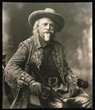 William F. Cody in one of his Wild West show jackets, May 1909