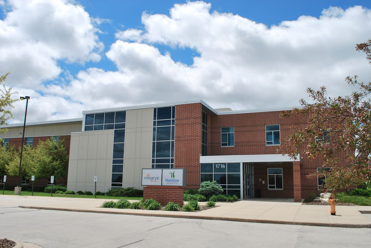 Hamilton scientific continues its expansion to a leed for Leed certified house