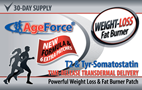 AgeForce Fat Burning Weight Loss Transdermal Patch